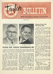 Taylor University Bulletin (March 1957) by Taylor University