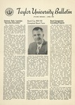 Taylor University Bulletin (April 1954) by Taylor University
