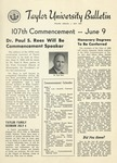 Taylor University Bulletin (May 1953) by Taylor University