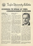 Taylor University Bulletin (May 1954) by Taylor University