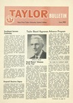 Taylor University Bulletin (June 1955) by Taylor University