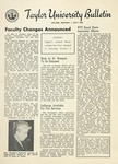 Taylor University Bulletin (July 1954) by Taylor University