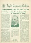 Taylor University Bulletin (August 1953) by Taylor University