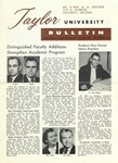 Taylor University Bulletin (September 1959) by Taylor University