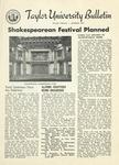 Taylor University Bulletin (November 1952) by Taylor University