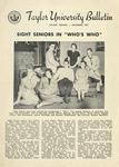Taylor University Bulletin (November 1953) by Taylor University