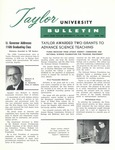 Taylor University Bulletin (June 1962) by Taylor University