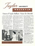 Taylor University Bulletin (July 1962) by Taylor University