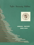 Taylor University Bulletin Annual Report 1958-1959 (1959)