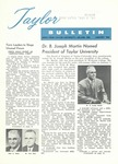 Taylor University Bulletin (January 1960) by Taylor University