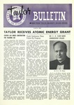 Taylor University Bulletin (March 1958) by Taylor University