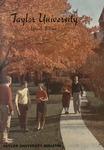 Taylor University Bulletin (May 1958)