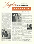 Taylor University Bulletin (May 1961) by Taylor University