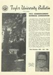 Taylor University Bulletin (June 1952) by Taylor University
