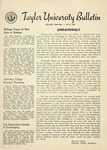 Taylor University Bulletin (July 1953) by Taylor University