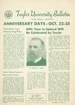 Taylor University Bulletin (August 1953)