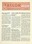 Taylor University Bulletin (August 1955) by Taylor University