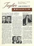 Taylor University Bulletin (September 1959)