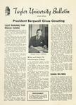 Taylor University Bulletin (October 1951) by Taylor University