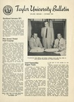 Taylor University Bulletin (October 1954) by Taylor University