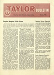 Taylor University Bulletin (October 1956) by Taylor University