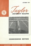 Taylor University Bulletin (October 1959) by Taylor University