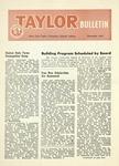 Taylor University Bulletin (November 1955) by Taylor University
