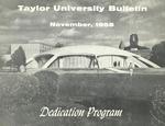 Taylor University Bulletin (November 1958)