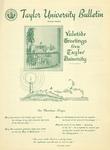 Taylor University Bulletin (December 1951) by Taylor University