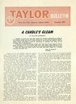 Taylor University Bulletin (December 1955) by Taylor University