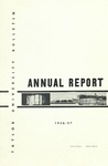 Taylor University Bulletin Annual Report 1956-1957 (September 1957) by Taylor University