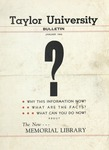 Taylor University Bulletin (January 1946)
