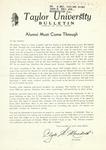 Taylor University Bulletin (February 1949) by Taylor University