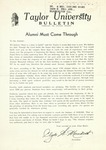 Taylor University Bulletin (February 1949)
