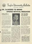 Taylor University Bulletin (February 1954) by Taylor University