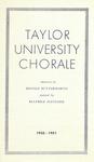 Taylor University Bulletin (March 1951) by Taylor University
