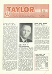 Taylor University Bulletin (March 1956) by Taylor University