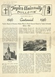 Taylor University Bulletin (April 1940) by Taylor University