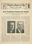 Taylor University Bulletin (April 1945) by Taylor University