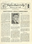 Taylor University Bulletin (May 1940) by Taylor University