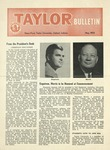Taylor University Bulletin (May 1955) by Taylor University