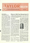 Taylor University Bulletin (May 1956) by Taylor University