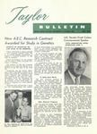 Taylor University Bulletin (May 1960) by Taylor University