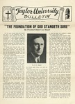 Taylor University Bulletin (June 1943) by Taylor University
