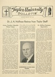 Taylor University Bulletin (July 1945) by Taylor University