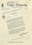 Taylor University Bulletin (August 1948) by Taylor University