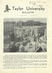 Taylor University Bulletin (August 1949) by Taylor University