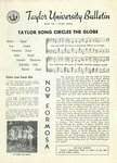 Taylor University Bulletin (August 1952) by Taylor University