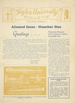 Taylor University Bulletin (September 1945) by Taylor University
