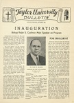 Taylor University Bulletin (October 1946) by Taylor University